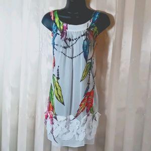NWOT. MOD DRESS/TUNIC